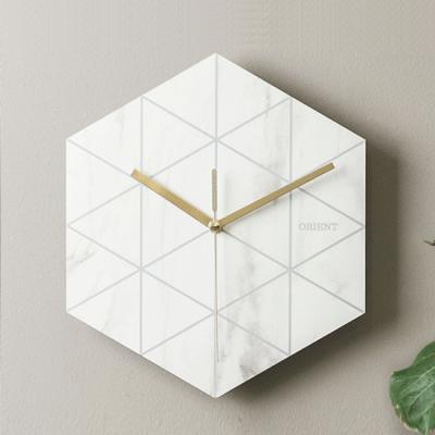[오리엔트] 마블 데코 벽시계