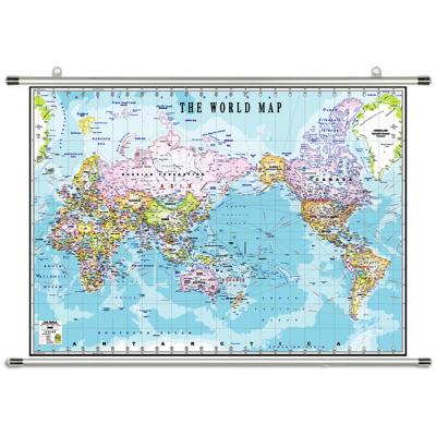 영문 세계지도 족자 150 x 110cm 대형 세계전도 보기