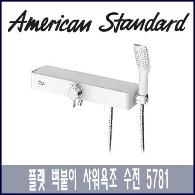 아메리칸 스탠다드 플랫 벽붙이 샤워욕조수전 5781