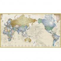 세계지도 인테리어 접착 시트지 포인트 벽지 150x95cm