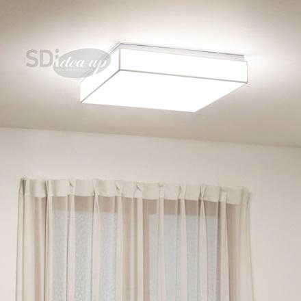 LED스위치비솔 네모형(50W)/기존스위치로 3가지색변환