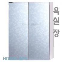[히든바스] HD502S 욕실장 여닫이장 실버장 HD장