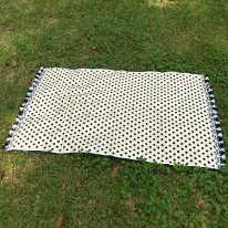 Cream Dot - Beach Towel
