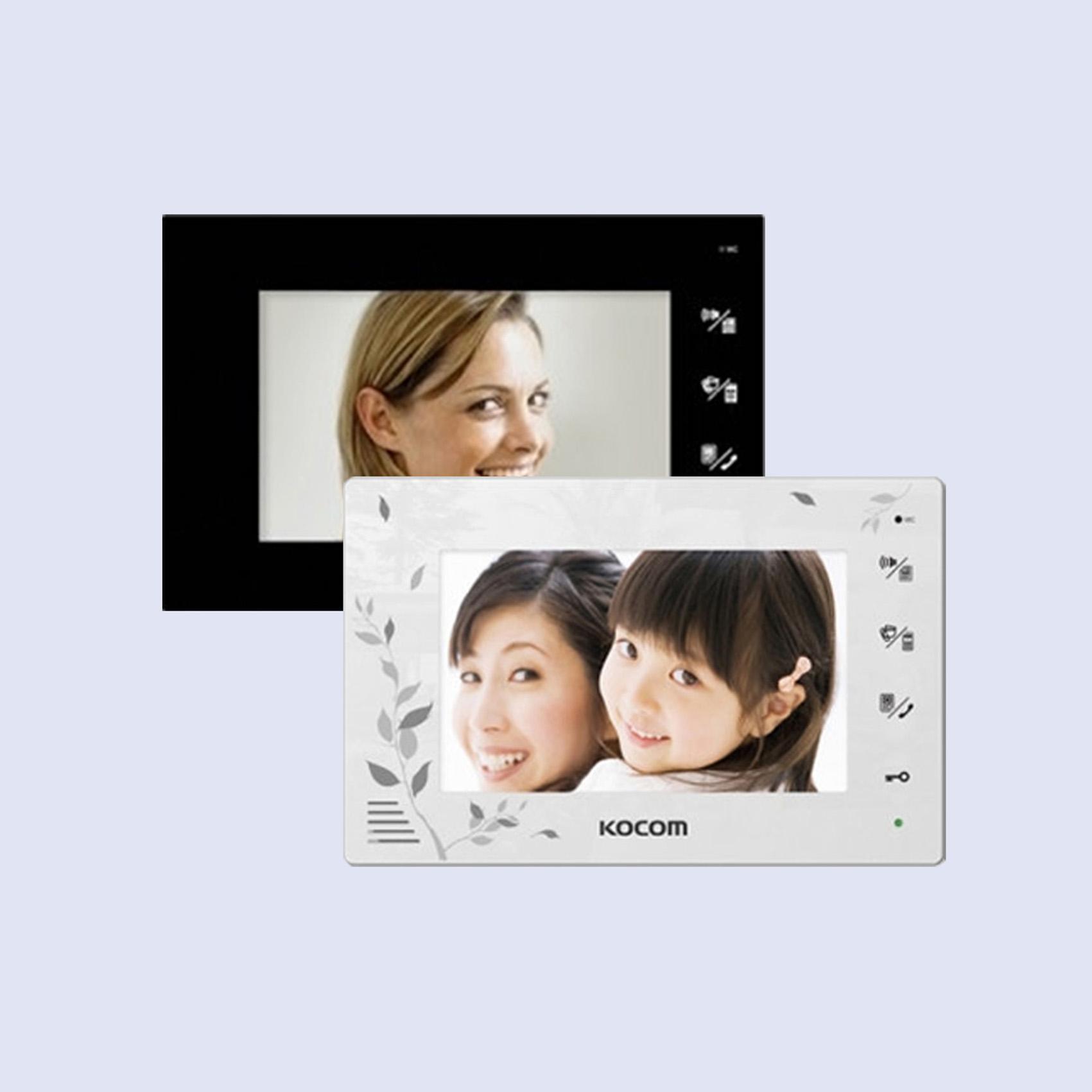 (코콤) KCV-376 컬러 비디오폰 인터폰