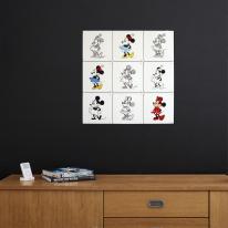 인테리어 월아트 익시 - Minnie Mouse animation 미니마우스
