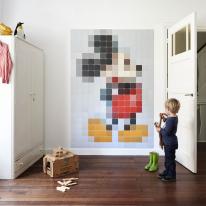 인테리어 월아트 익시 - Mickey Mouse pixel 미키마우스 픽셀