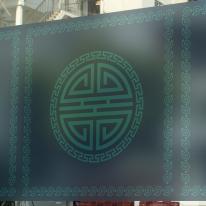고급칼라안개시트_전통문양아트 02