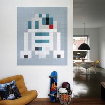 인테리어 월아트 익시 - R2 D2 Pixel 스타워즈 R2D2