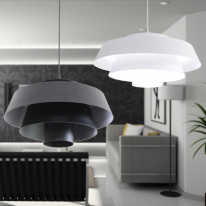 LED 미궁(블랙, 화이트) 1등 펜던트 인테리어 조명
