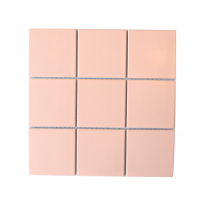 정사각 타일 306*306 1헤베-11장 핑크 (5color)