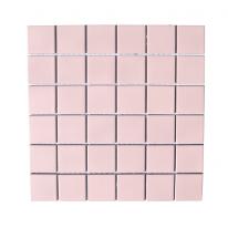 정사각 타일(S) 306*306 1헤베-11장 핑크 (5color)
