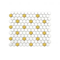 [어반테고] 육각 패턴타일 265*312 | 1BOX 1m2 13pcs | 2color | 골드