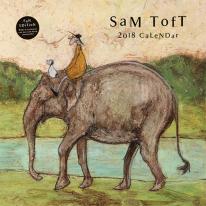 Sam Toft 2018 calendar_샘 토프트 2018 캘린더 벽걸이용