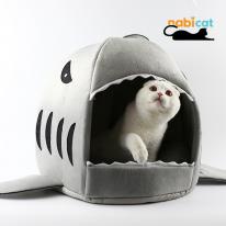 나비캣 상어하우스 L 고양이집 애견하우스 상어집