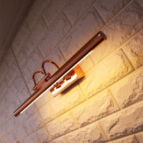 LED 플루트벽등 - 핑크골드