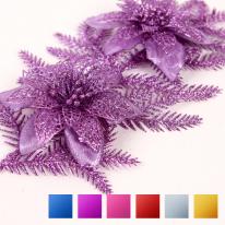 연결용포인꽃 (2개입) (6색상) 크리스마스장식