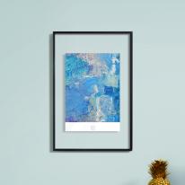 레이어액자-crystal layer frame-613b