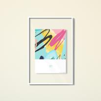 레이어액자-crystal layer frame-594w