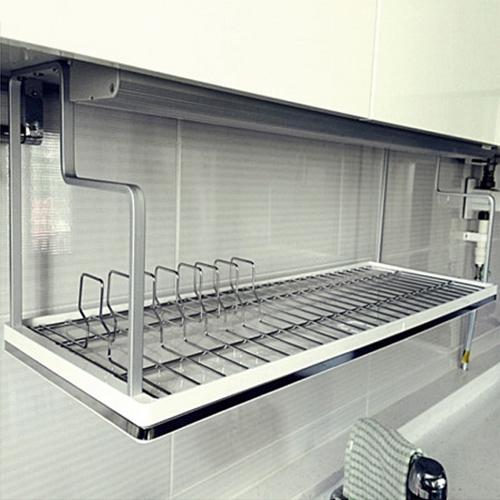 슬림 클리어800 디자인 식기건조대
