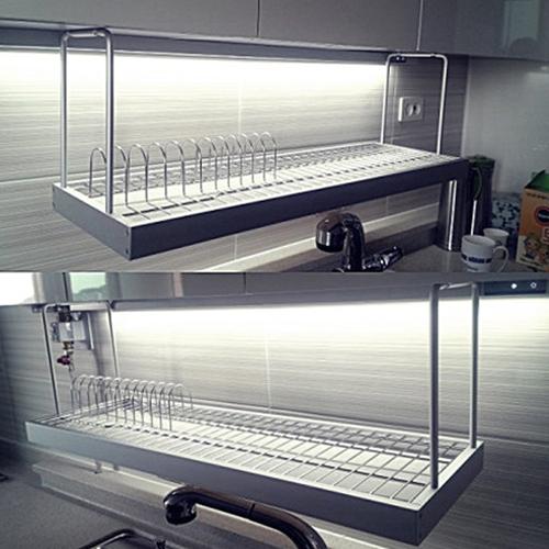 알루미늄 광폭900 디자인 식기건조대