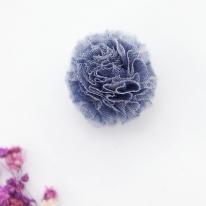 망사프릴폼폼]솜사탕방울4cm-블루(98133)