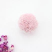 망사프릴폼폼]솜사탕방울4cm-핑크(98131)