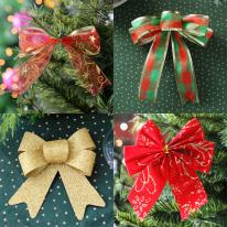 [크리스마스장식]크리스마스 리본 장식 모음