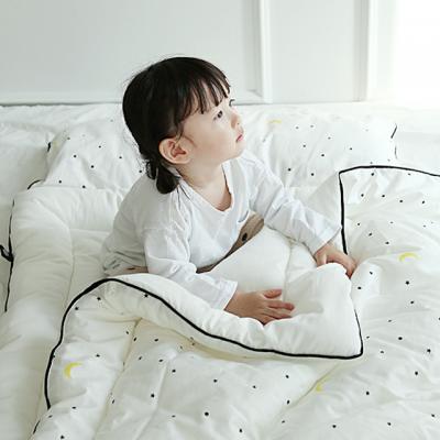[쟈니스타]사계절용 일체형 낮잠이불_문라이트화이트