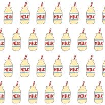 자체제작/무형광이중거즈]우유주떼여(바나나우유) (146940)