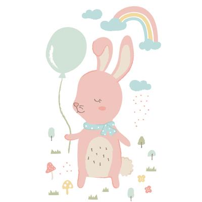 [자체제작/DTP컷트지]슬리핑프렌즈 토끼(153108)