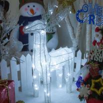 LED 니켈사슴 60cm 화이트 크리스마스전구