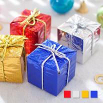 홀로그램 선물상자 10cm (1개입) 크리스마스트리장식