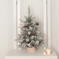 고급솔방울눈트리 60cm 크리스마스트리