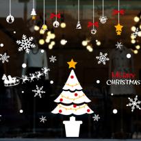 cmi249-웰크리스마스 트리-크리스마스스티커