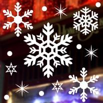 JMCS3001 겨울눈꽃01 크리스마스 스티커