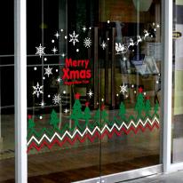 JMCS3112 숲속 크리스마스트리 02 눈꽃 스티커