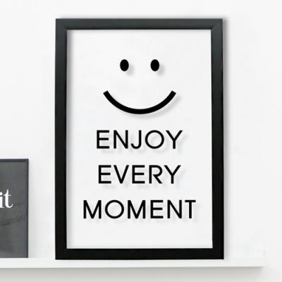 pb149-모든순간을즐기자투명액자