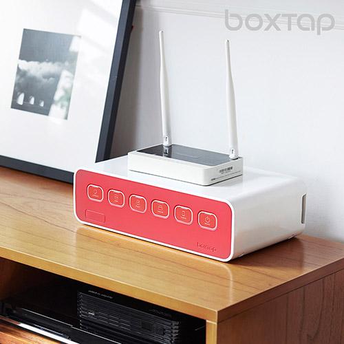 에이블루 박스탭 전선정리 멀티탭 일반형 1+1