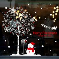 cmi258-눈꽃나무 아래에서-크리스마스스티커