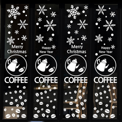 cmi265-크리스마스 in 카페-크리스마스스티커