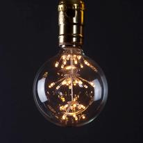[포커스] G80 LED 2W 에디슨 눈꽃 램프