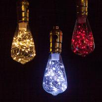 [포커스] 카오스 ST64 LED 에디슨 램프(눈꽃램프)