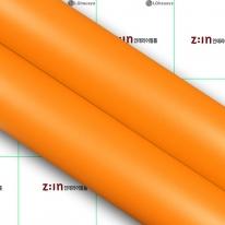 LG하우시스- 고품격인테리어필름 ( ESE03 ) 파스텔Orange 단색필름지