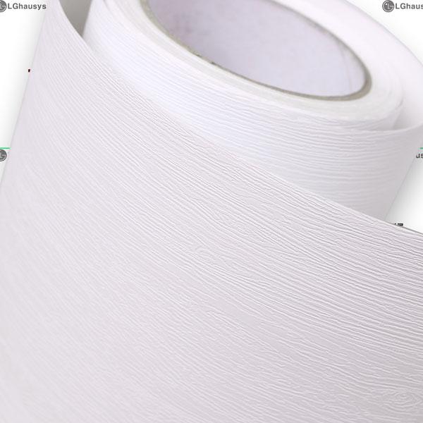 LG하우시스- 고품격인테리어필름 우드그레인화이트 무늬목필름지 [HSJD1]