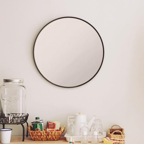 모더미 원형 거울 (블랙)