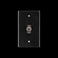 VONO 빈티지 알루미늄 토글스위치 3종 (블랙)