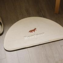 자수 발매트 - 06 Winter fox