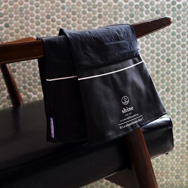 WD 패션 고무장갑 (블랙/블루)