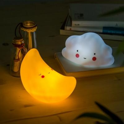 베이비 LED 무드등 (구름/달)