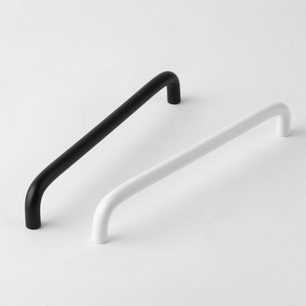 베이직 슬림 가구손잡이-화이트(192mm)